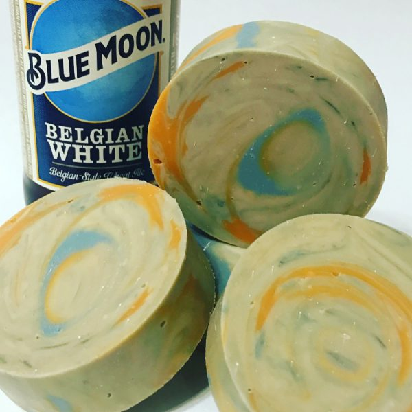 Blue Moon Beer Soap